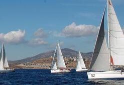 Muğladaki yelken yarışları başladı
