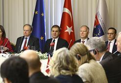 AB Bakanı Çelik, AB büyükelçileriyle bir araya geldi