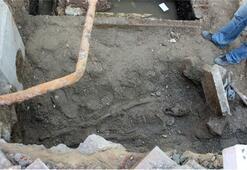Şebeke onarımı sırasında bulundu: Tam 2500 yıllık