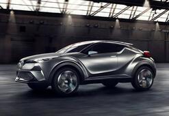 Türkiyede üretilen ilk hibrit otomobil Toyota C-HR yarın satışa sunuluyor