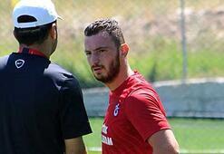 Trabzonsporda Aykut Demir özel izinle antrenmana çıktı