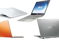 Sıfır beden laptop'lar Vegas'ta şova çıkıyor