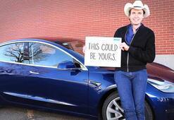 Elon Muskın kardeşi Kimbal Musk, sahip olduğu Tesla Model 3ü ödül olarak verecek