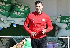Antalyasporda Emre Güral, takımla birlikte çalıştı