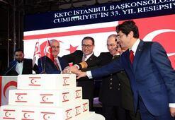 İstanbul'da KKTC resepsiyonu
