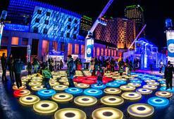Türkiye'nin ilk ışık festivali Zorlu Center'da