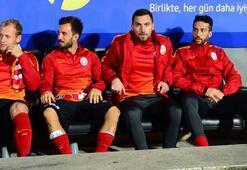 En golcü yedek kulübesi Galatasarayda