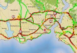 İstanbulda kırmızı alarm İBB trafik için uyardı