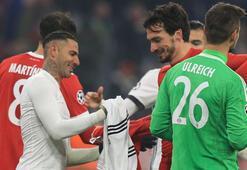 Maç bitti, Bayernliler Quaresmaya koştu