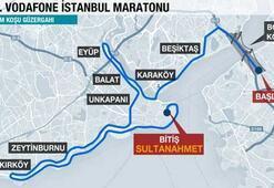 İşte Vodafone Maratonunun 42 kilometrelik parkuru