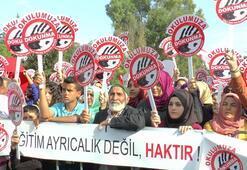 Öğrenciler ve veliler soka çıktı: Cahillerden olmaokulumu kapatma