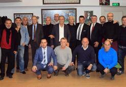 Trabzonspor Başkan adayı Celil Hekimoğlu efsanelerle buluştu