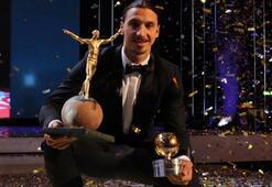 Zlatan İbrahimovic yılın futbolcusu seçildi Elmandere büyük ayıp...