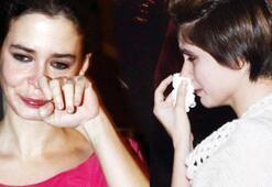 Gözyaşlarına boğuldular