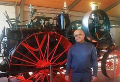 Antika Traktör Müzesine ziyaretçi akını