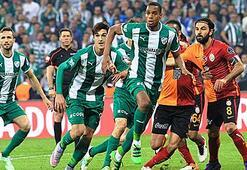 Bursaspor'da Galatasaray'a karşı 3 eksik