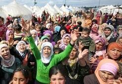 Göçmen kampında patlama Ölü ve yaralılar var