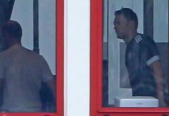 Manuel Neuer çalışmalara başladı