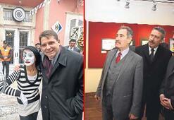 Karikatür müzesi neşeyle açıldı