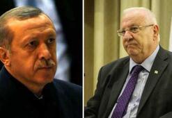 Rivlin ile Erdoğanın konuşmasında dikkat çeken detaylar