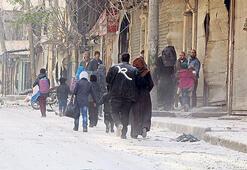 Halep'in doğusu  iki parçaya bölündü