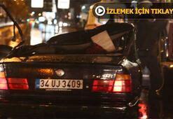 Erdal Tosunun öldüğü trafik kazasının görüntüleri ortaya çıktı