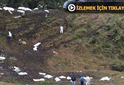 İki uçak acil iniş istedi, biri indi diğeri çakıldı