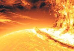 Güneş'teki patlama NELER GETİRECEK