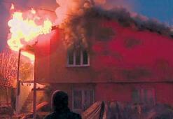 Aladağ'da ev yangını korkuttu