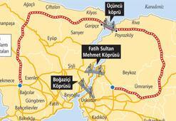 Başbakan haritayı önüne aldı 3. köprü projesini daralttı