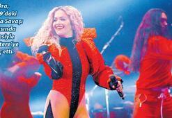 Rita Ora Kosova'yı salladı