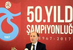 Usta, 50. yılda Trabzonspora şampiyonluk vaat etti