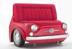 Fiat 500 ile ilginç tasarım