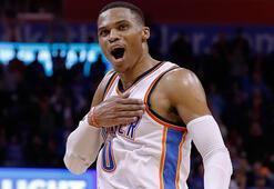 Westbrook NBA tarihine geçti