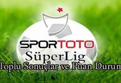 Süper Lig puan durumu (12.hafta)