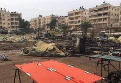 Rusyaya ait askeri sahra hastanesine saldırı