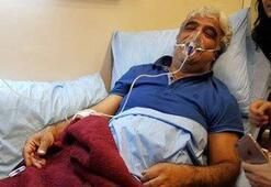Sancar at hospital