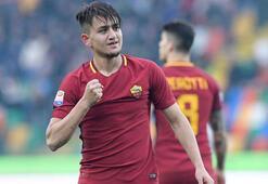 Cengiz Ünder yine gol attı, Roma kazandı