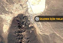 Dünyanın en gizli askeri tesisi böyle görüntülendi