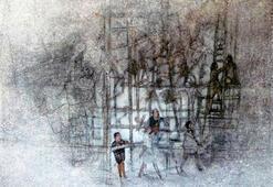 Kometin eserleri Viyanada sergileniyor