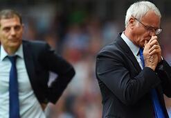 Ranieri ve Bilic ateş hattında