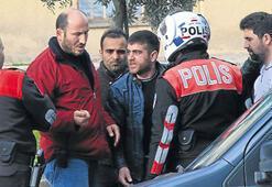 Polise karşı direndi üstünden esrar çıktı