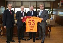 Galatasaray yönetiminden nezaket ziyaretleri