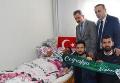 Konyaspordan Afrin gazisine ziyaret