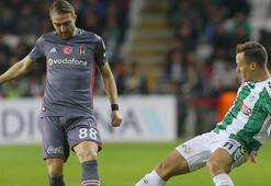 Konyaspor - Beşiktaş: 1-1