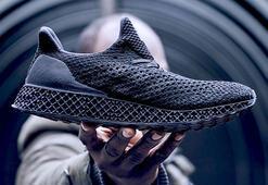 Adidastan 3D yazıcıyla üretilmiş koşu ayakkabısı