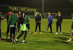 Şanlıurfada Erciyes maçı hazırlıkları
