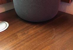 Appleın akıllı hoparlörü HomePod ahşap yüzeylerde leke bırakıyor