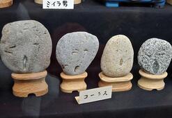 Yüze benzeyen taşlar bu müzede
