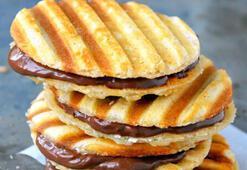 Çikolata kremalı waffle tarifi